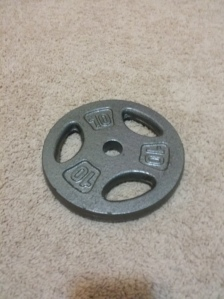 Gold's Gym 10 lb Standard Plate